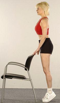 ���� - Como fazer exercícios Standing Calf