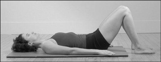 ���� - Como fazer a posição Pilates Abdominal colher