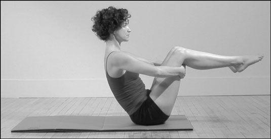 ���� - Como fazer a posição Pilates Ponto de Equilíbrio