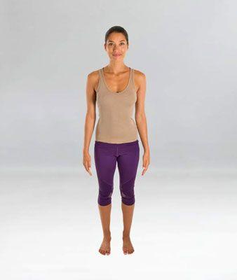 ���� - Como fazer a Postura Yoga Montanha (Tadasana)