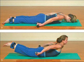 ���� - Como fazer o Yoga-com-levantar pesos Exercício