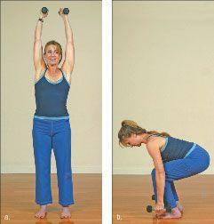 ���� - Como fazer o Yoga-com-Pesos Lightning Bolt Exercício