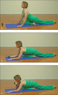 ���� - Como fazer o Yoga-com-Pesos Pigeon Exercício