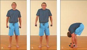 ���� - Como fazer o Yoga-com-Pesos Rag Doll Exercício