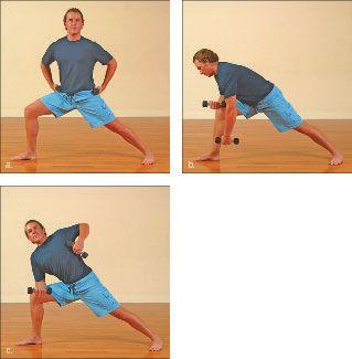 ���� - Como fazer o Yoga-com-Pesos Triângulo Exercício