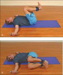 ���� - Como fazer o Yoga-com-Pesos Twister Exercício