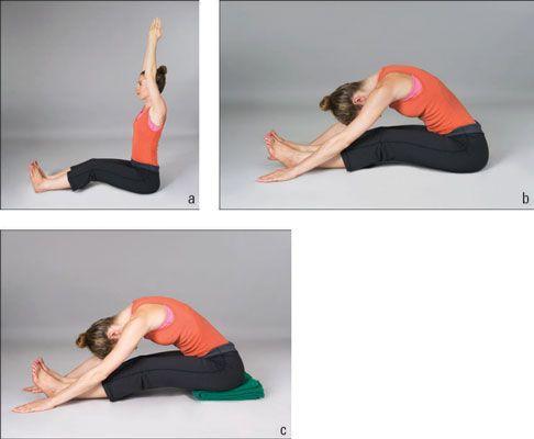 ���� - Como fazer Yoga Posturas frente Bend