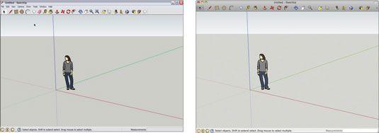 ���� - Como desenhar um modelo simples no Google SketchUp 8
