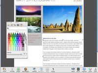 ���� - Como editar texto em uma página iWeb no Mac OS X Snow Leopard