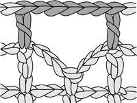 ���� - Como Filet Crochet um Bar