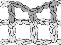 ���� - Como Filet Crochet um Lacet