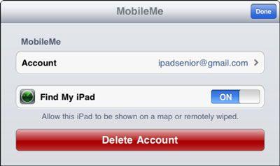 ���� - Como encontrar um iPad falta com FindMyiPad