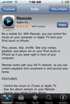 ���� - Como encontrar informações sobre um aplicativo usando o iPhone