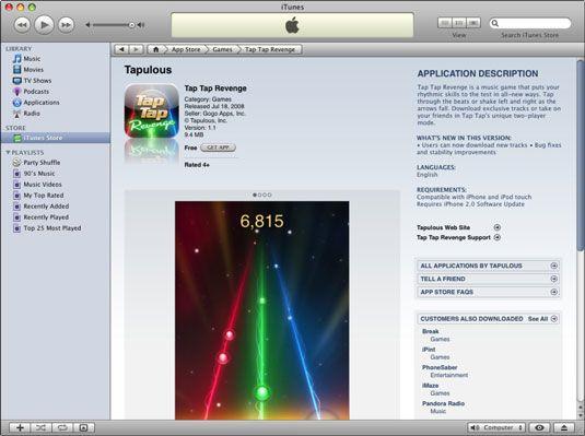 ���� - Como encontrar informações sobre um iPhone App no iTunes