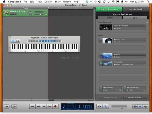 Use o gerador de som Tonewheel órgão para o Rock Organ Classic.
