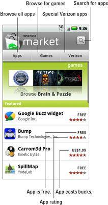 ���� - Como Chegar Apps para o seu Droid X a partir do Android Market
