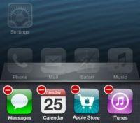 ���� - Como Chegar Apps Fora do iPhone 5 multitarefa Bandeja