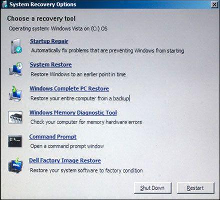 ���� - Como Chegar ao Console de recuperação no Windows