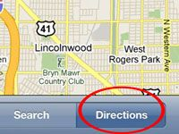 ���� - Como obter rotas a pé com o iPhone Maps App