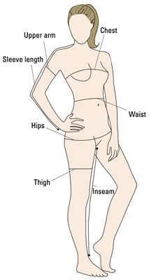 ���� - Como obter suas medidas do corpo
