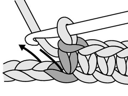���� - Como aumentar com Crochet Único