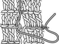 ���� - Como Aderir costuras Crochet com ponto Blanket