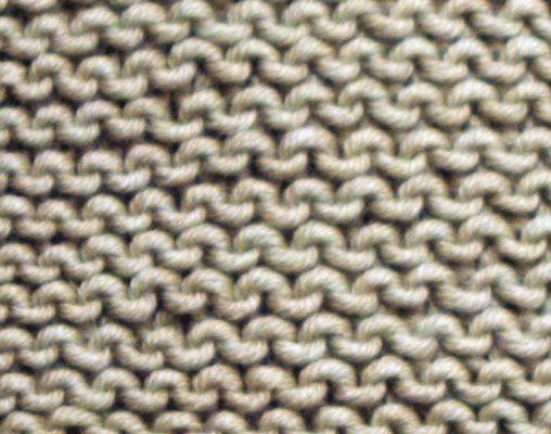 ���� - Como Knit o ponto Garter