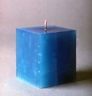 ���� - Como fazer uma vela moldada para o Natal