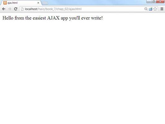 ���� - Como fazer um pedido de AJAX com jQuery para HTML5 e CSS3 Programação