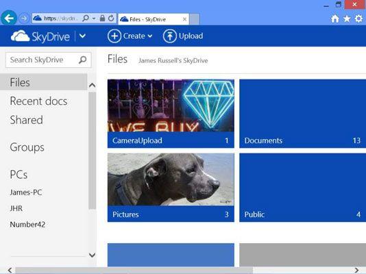 ���� - Como gerenciar OneNote 2013 Notebooks com SkyDrive