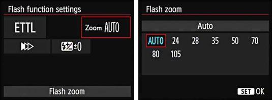 ���� - Como modificar o Flash Zoom em sua Canon EOS 6D
