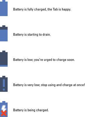 ���� - Como monitorar o status da bateria em um Samsung Galaxy Tab