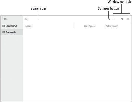 ���� - Como navegar arquivos no Chromebook