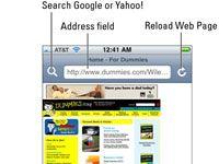 ���� - Como abrir uma página da Web em seu iPhone