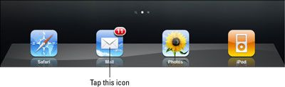 ���� - Como abrir e ler e-mails no seu iPad