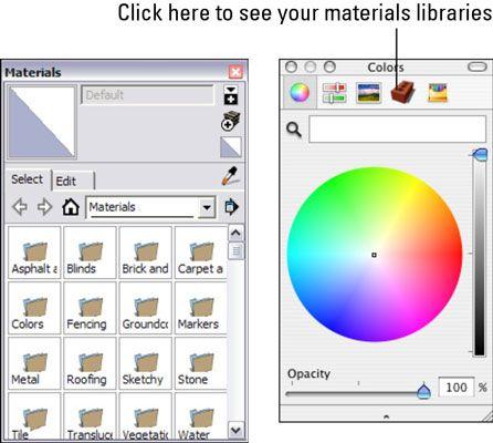 ���� - Como pintar um modelo no Google SketchUp 8