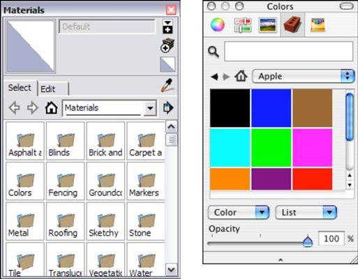 ���� - Como pintar Faces no Google SketchUp 8