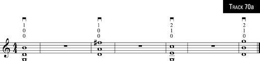 ���� - Como Jogar três e quatro notas Chords no violino