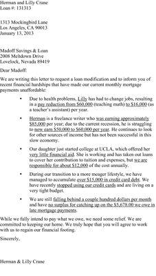 ���� - Como preparar um carta de dificuldade para um credor hipotecário