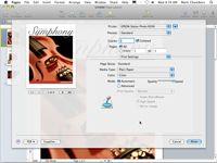���� - Como imprimir um documento Mac Snow Leopard Páginas