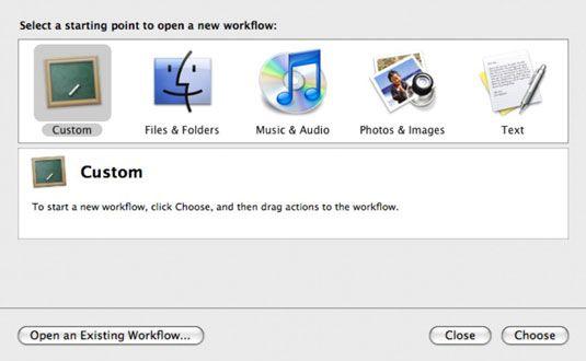 ���� - Como programar tarefas repetitivas Usando o Mac Automator