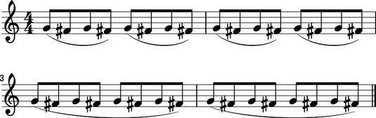 ���� - Como colocar o arco de violino Juntamente com vibrato