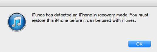���� - Como colocar seu iPhone no dispositivo para o modo de atualização de firmware