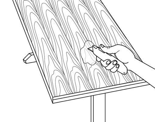 ���� - Como remover bolhas em Veneer