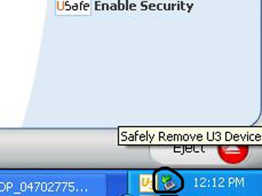 ���� - Como remover armazenamento externo USB de seu laptop