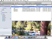 ���� - Como responder a uma mensagem Apple Mail com o Mac OS X Snow Leopard