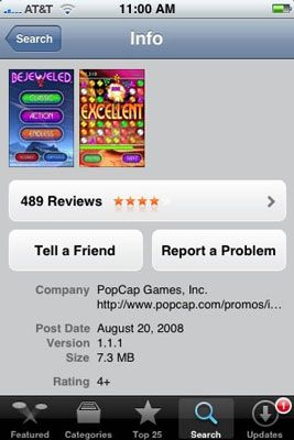 ���� - Como reportar um problema de aplicação do seu iPhone