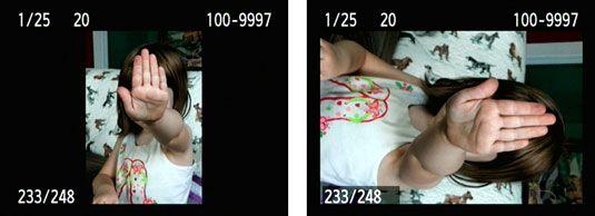 ���� - Como girar Vertical Pictures em uma Canon EOS 60D