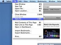 ���� - Como salvar páginas da web no Safari