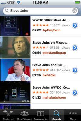 ���� - Como pesquisar YouTube no seu iPhone